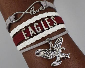North Carolina Central University Infinity Bracelet
