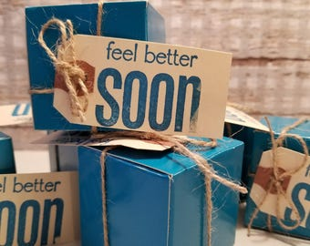 Feel Better Soon Gift Box Made With Young Living Products