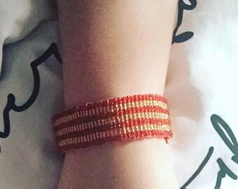Gryffindork - a Harry Potter inspired beaded bracelet