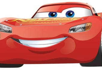 Mcqueen Wall Decals Etsy - Lightning mcqueen custom vinyl decals for carcars lightning mcqueen disney decal sticker window new colorwhi