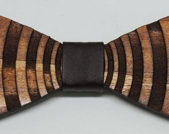 wooden bowtie for exquisite