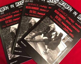 Women in Rock Magazine Issue 002