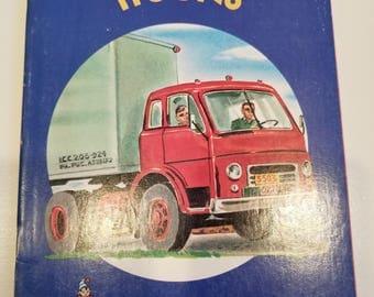 Trucks, A Rand McNally Elf Book, softcover, Copyright  1959