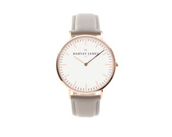 HJ - Classic Rose Gold | Cadet (Harvey James Watches)