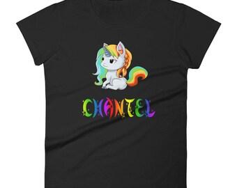 Chantel Unicorn Ladies T-Shirt