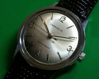 Vintage 1979 CARAVELLE Men's Watch Running *FULLY SERVICED*
