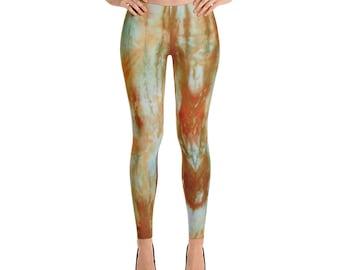 Adire Pattern Leggings
