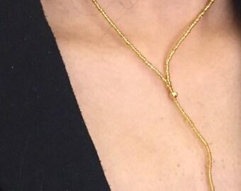 Diamond Topaz pendant necklace