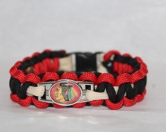 Chhicago Blackhawks Bracelet