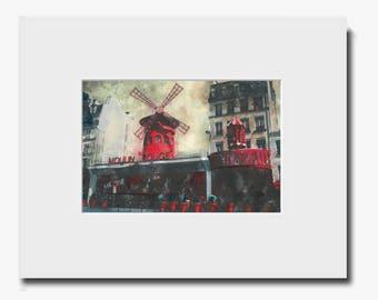 Moulin Rouge - Fine Art Print