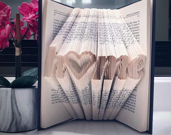 Home Folded Book Art