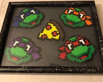 Framed ninja turtle