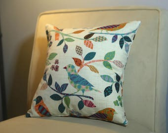 16x16 Bird Pillow