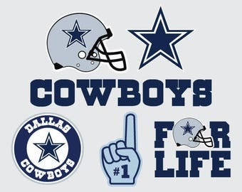Dallas Cowboys  SVG PNG DXF File Vector Cricut and Silhouette Instant Download
