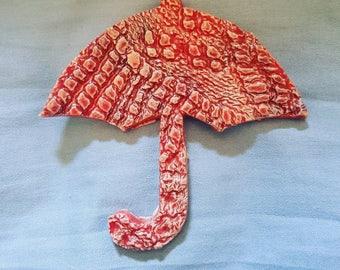 Unbrella brooch
