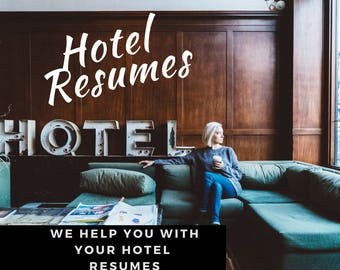 Hotel Resume writing Service