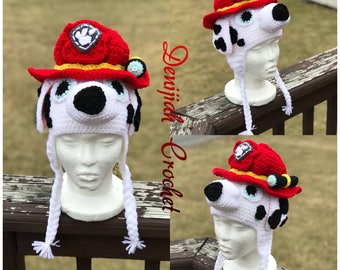 Marshall from Paw Patrol Character Hat