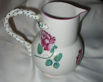 "Tiffany and Co. Portugal pitcher ""Stasbourg Flowers"""