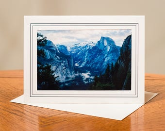 National Park Photograph Cards - Set of 4 / Blank Inside / Nature Photo Note Card / Greeting Card Art