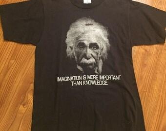 Vintage 90s Albert Einstein Single Stitch T Shirt