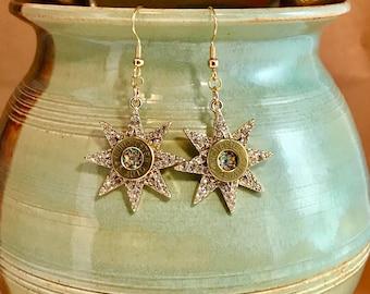 Star bullet earrings