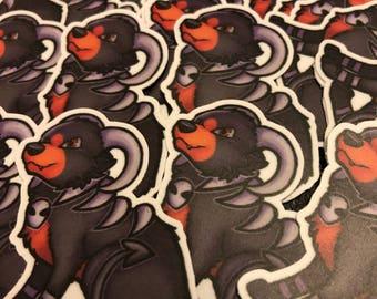 Houndoom Pokémon Stickers