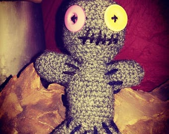 Naughty Voodoo doll-also suitable as a pincushion-with or without rattle-baby-souls comforter Talisman Gift