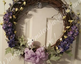 Spring/Easter Grapevine Wreath