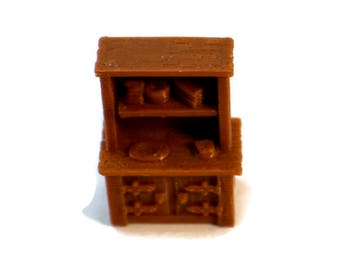 28mm Scale RPG Terrain Miniature Cabinet Dungeons & Dragons
