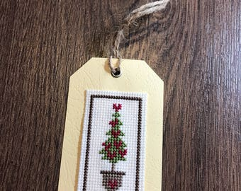 Topiary Tree Gift Tag