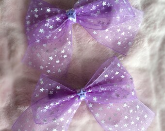 Celestial - Handmade Lolita-Style Hair Bows