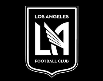 LAFC Badge Vinyl Decal - Multiple Colors and Sizes Available