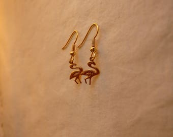 Flamingos Handmade Earrings ~ Gift for Her ~ Birthday Gift Idea~ Date ~ Discreet ~ Girlfriend Gift ~ Animals ~ Bridesmaid ~ Girl ~ Valentine