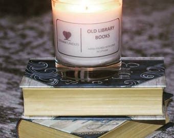 Lytham Candles : Old Library Books