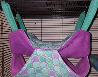 Ferret/ squirrel/ rat/chinchilla double hammock