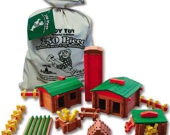 250 pc Deluxe Farm Set, Made in the USA