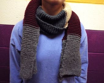 Knitted Chunky Scarf