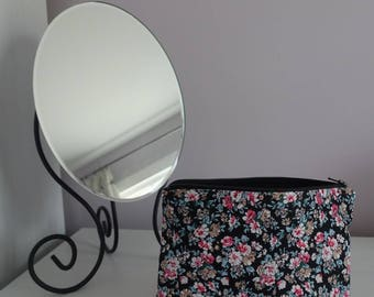 Floral make up bag