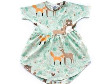 Wildlife Patterned Dress
