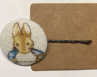 Peter rabbit hair pin