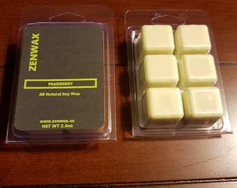 Pearberry Scented Natural Soy Wax Melt