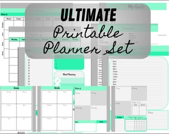 Ultimate Printable Planner Set