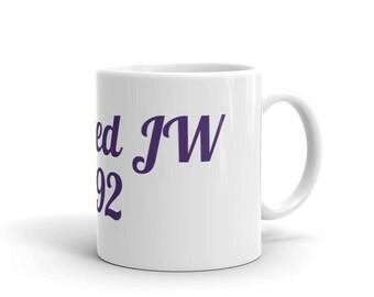 JW Baptized Mug