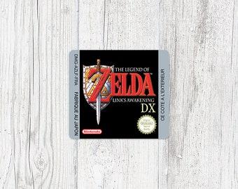Game Boy Color Sticker: Zelda - Link's Awakening DX