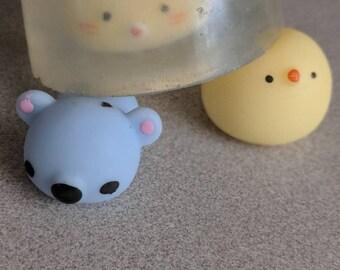 Mochi animal soaps
