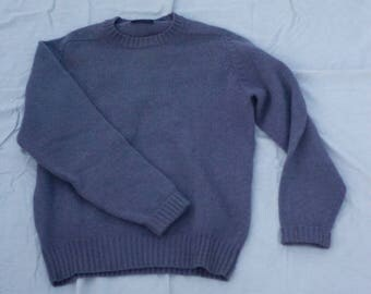 Shetland Wool Sweater. Vintage
