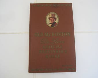 Old Mr. Boston De Luxe Official Bartenders Guide Compiled & Edited By Leo Cotton Published Mr. Boston Distiller Inc.  1959