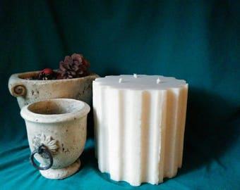 Vintage Roman Column Candle