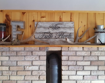 Rustic Pallet Wood Sign