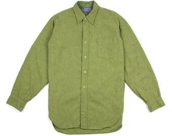 1950s Pendleton 100% Virgin Wool Shirt Made in U.S.A.
